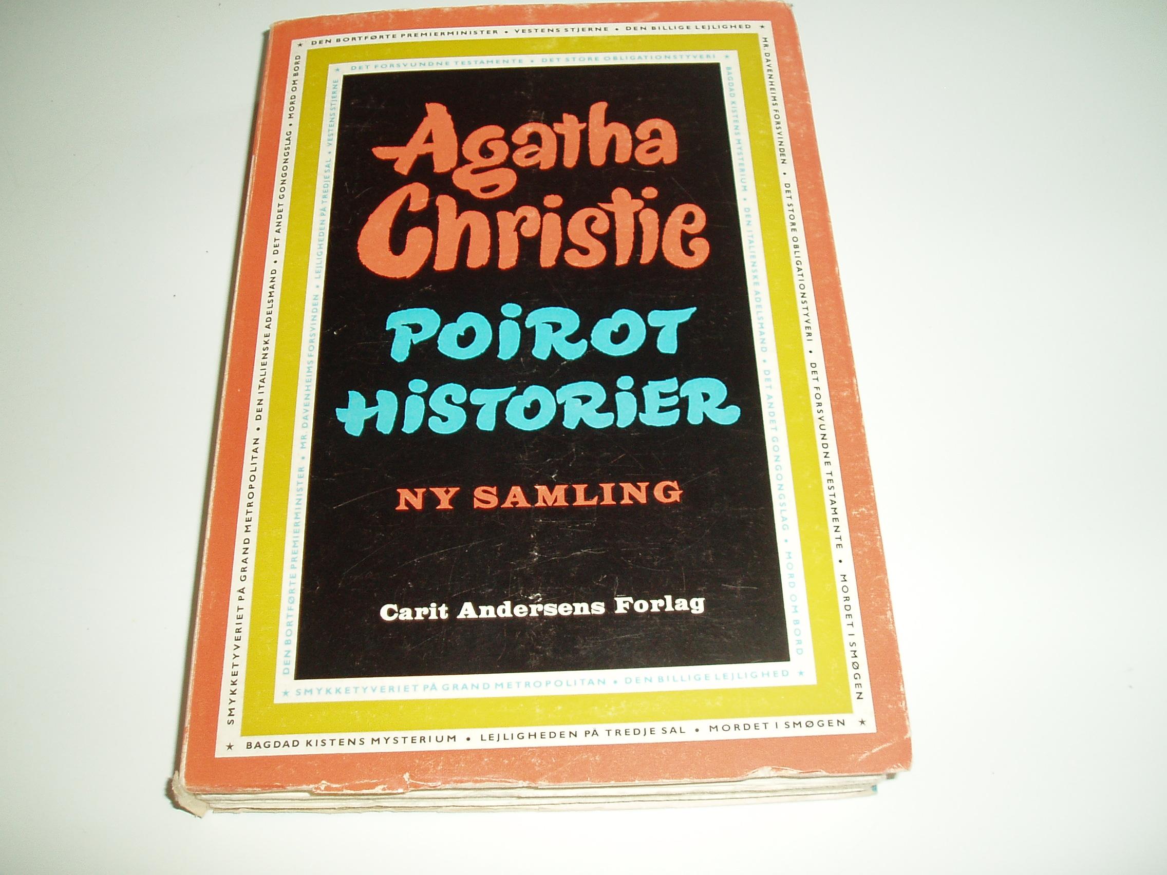Poirot Historier. Ny samling.  En Omnibus-bog