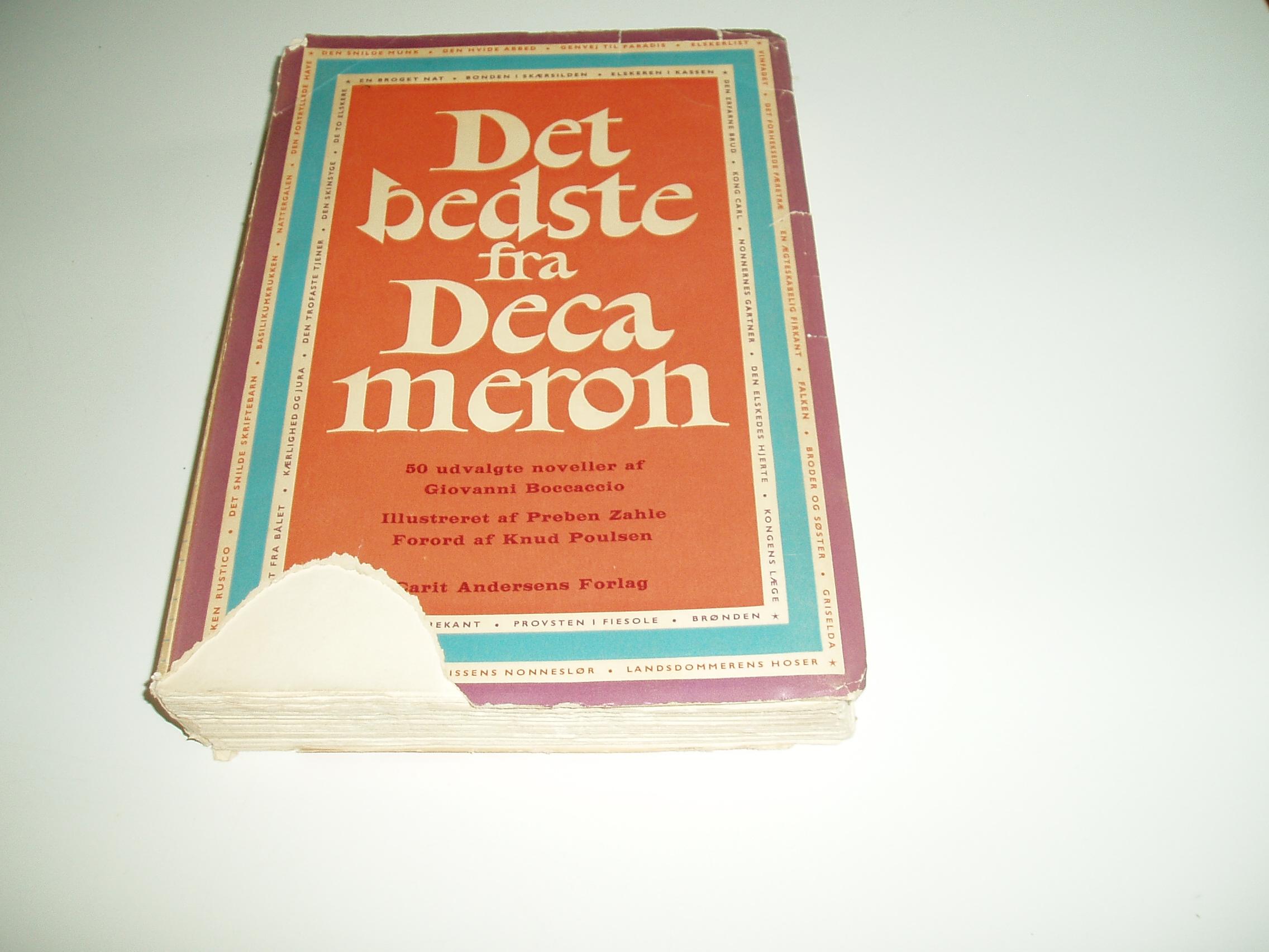 Det bedste fra Decameron. 50 udvalgte noveller. En Omnibus-bog