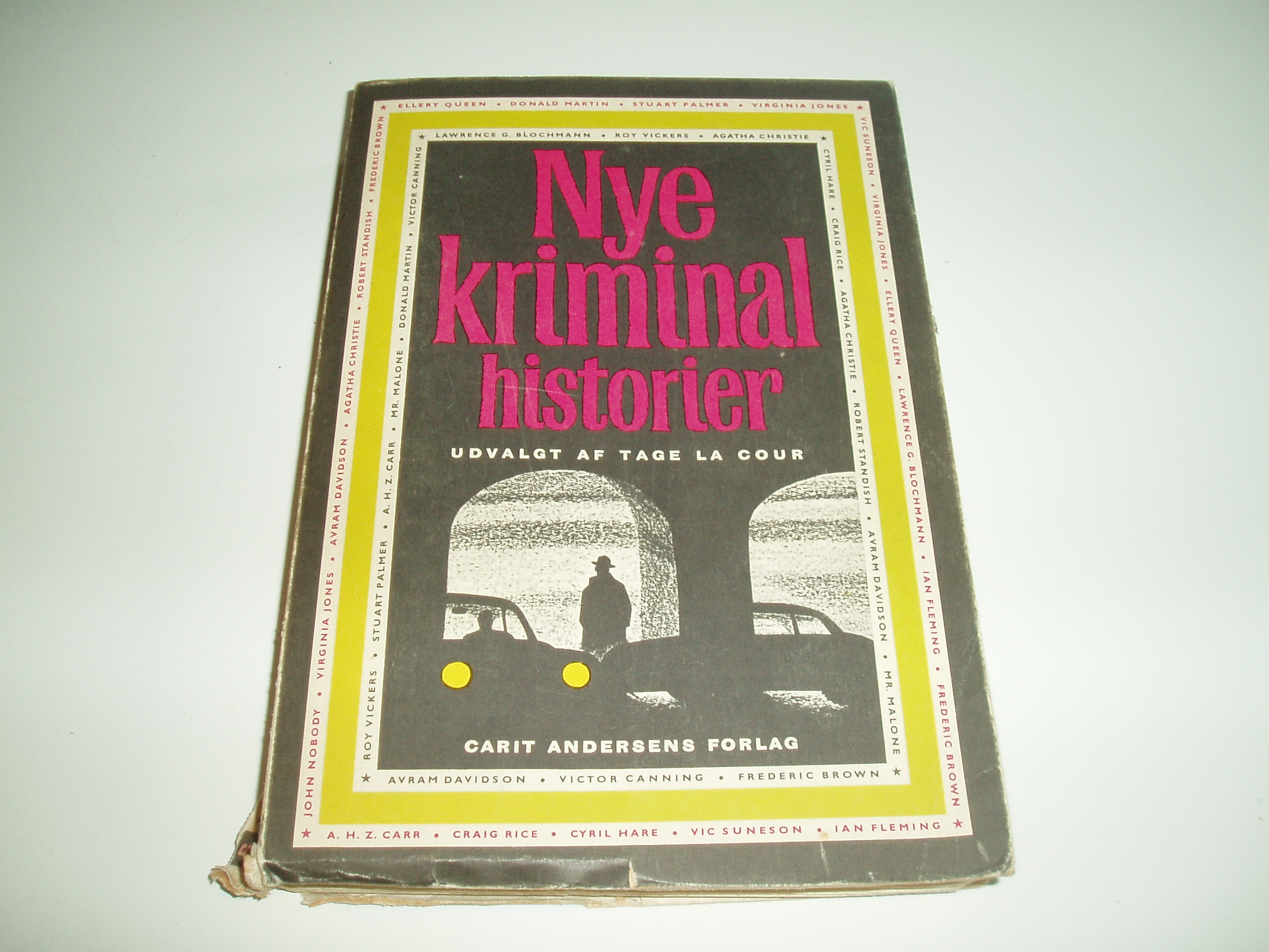 Nye Kriminalhistorier fra hele verden. En Omnibus-bog
