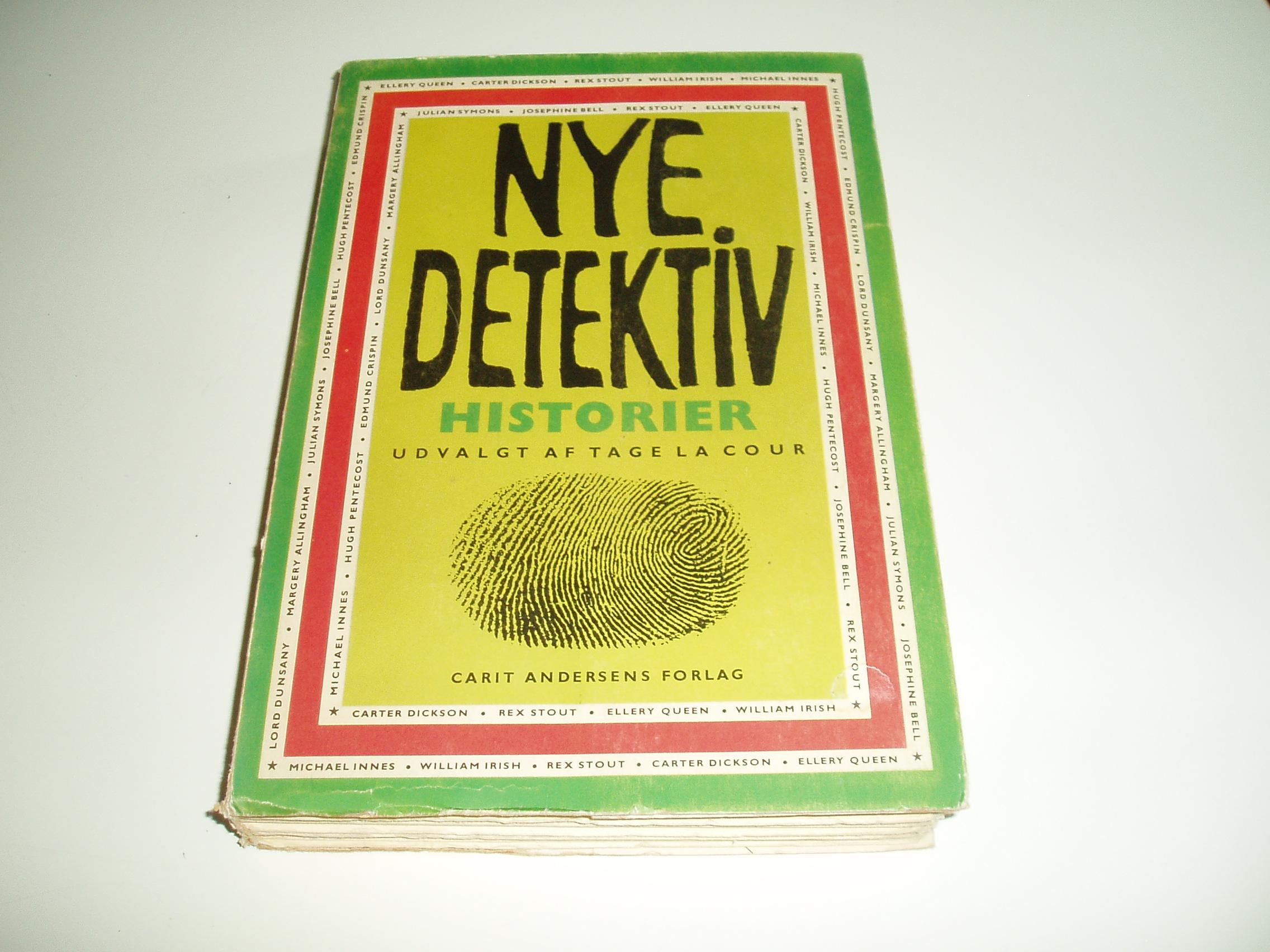 Nye Detektivhistorier fra hele verden. En Omnibus-bog