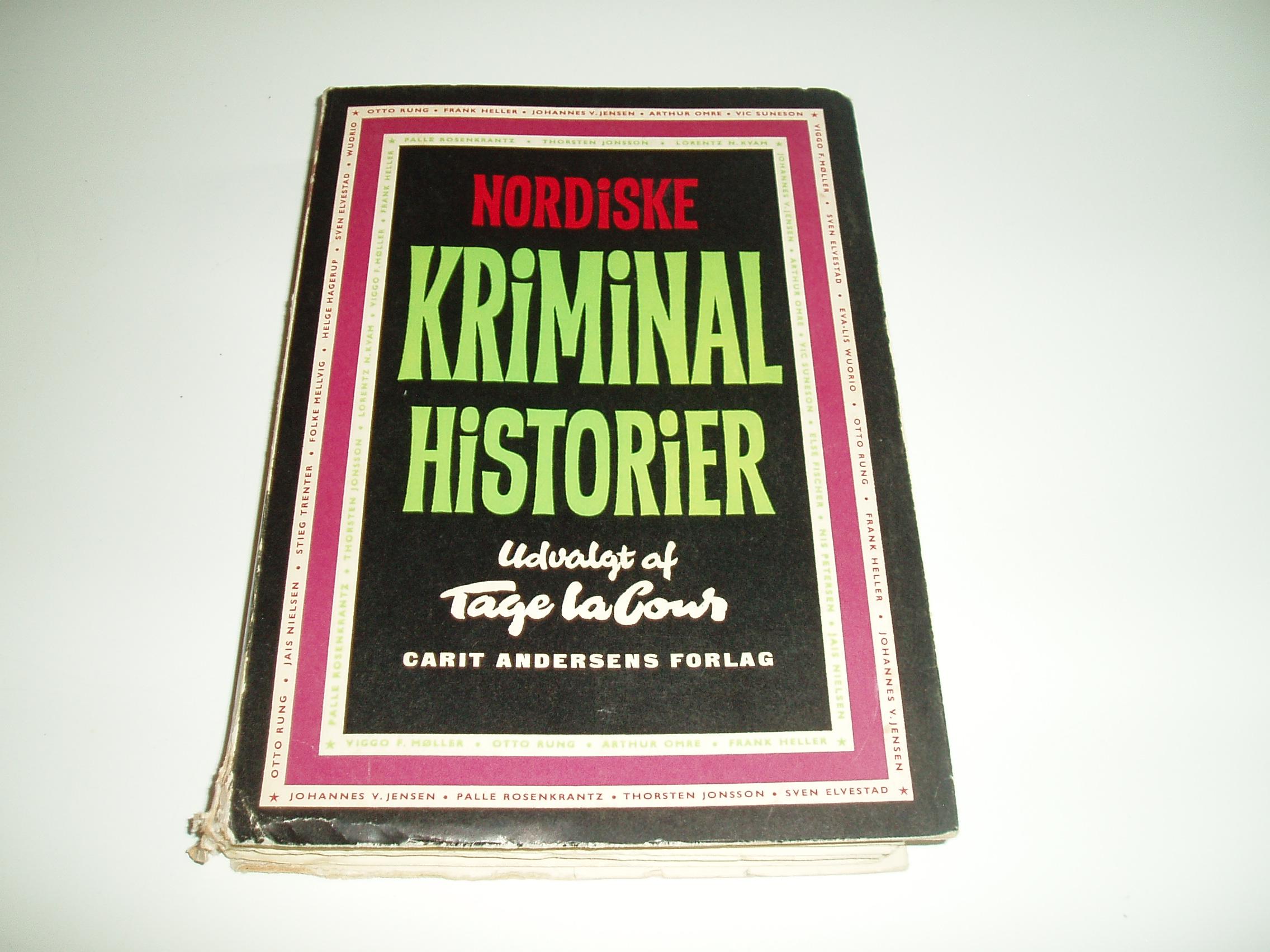 Nordiske Kriminal historier. En Omnibus-bog