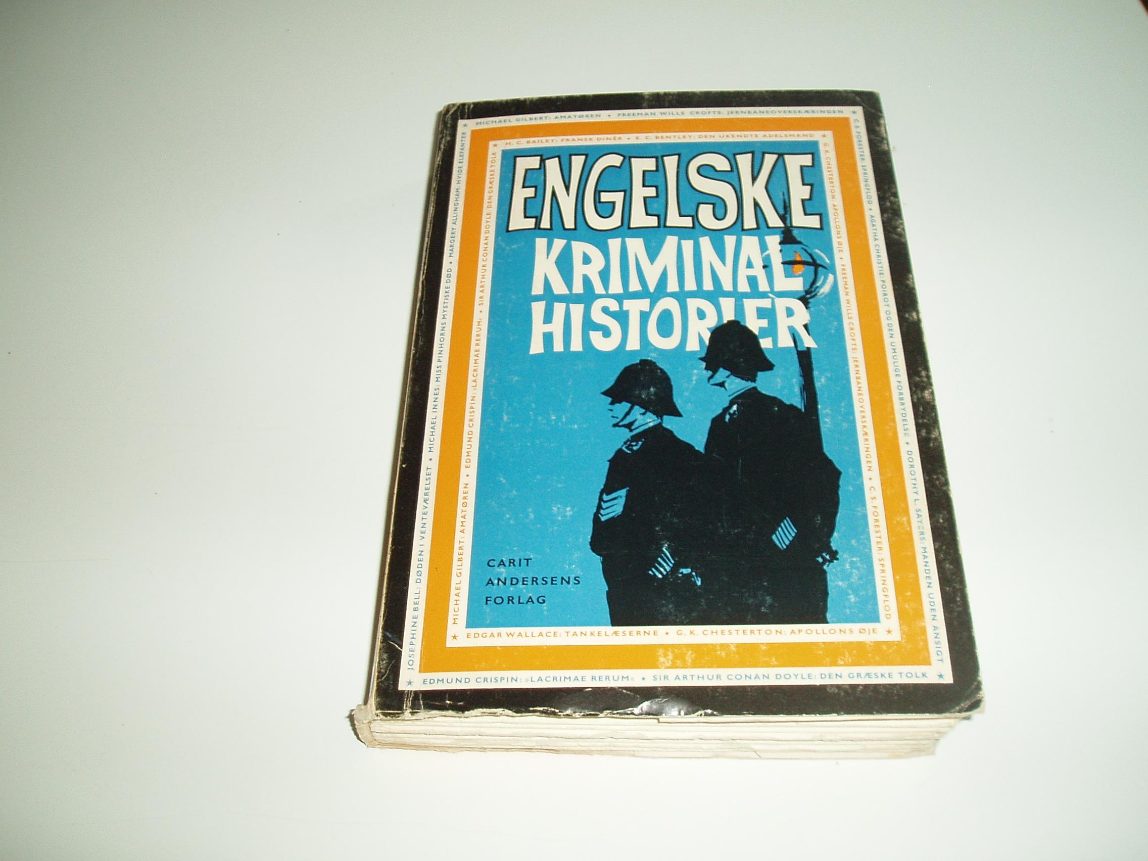 Engelske Kriminal historier. En Omnibus-bog