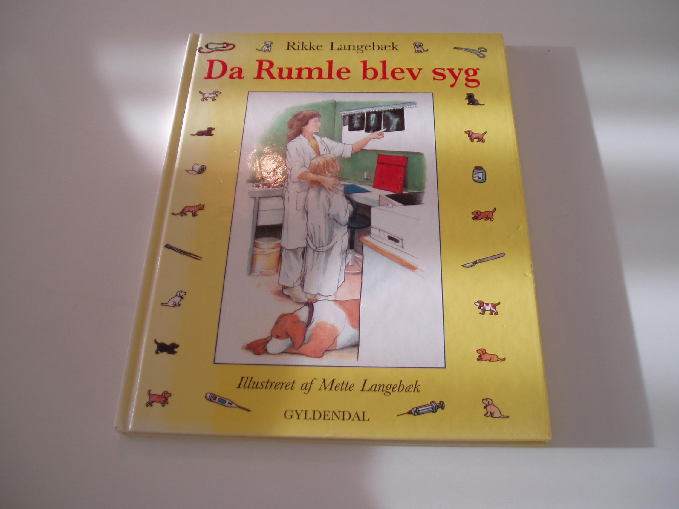 Da Rumle blev syg. Ill. af Mette Langebæk. 1. udg. 1. oplag