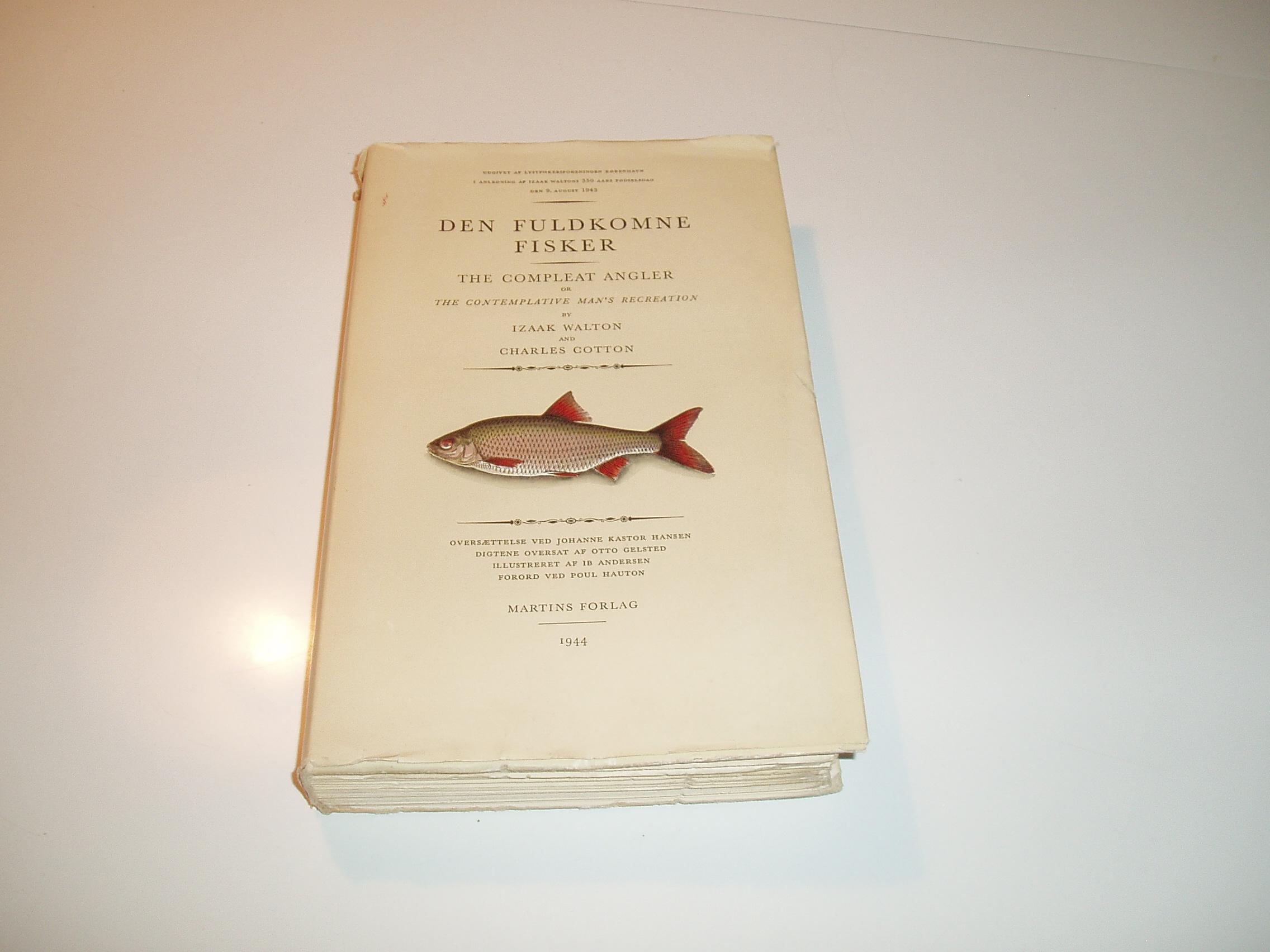 Den fuldkomne fisker. Illustreret af Ib Andersen.1. udg., 5. opl