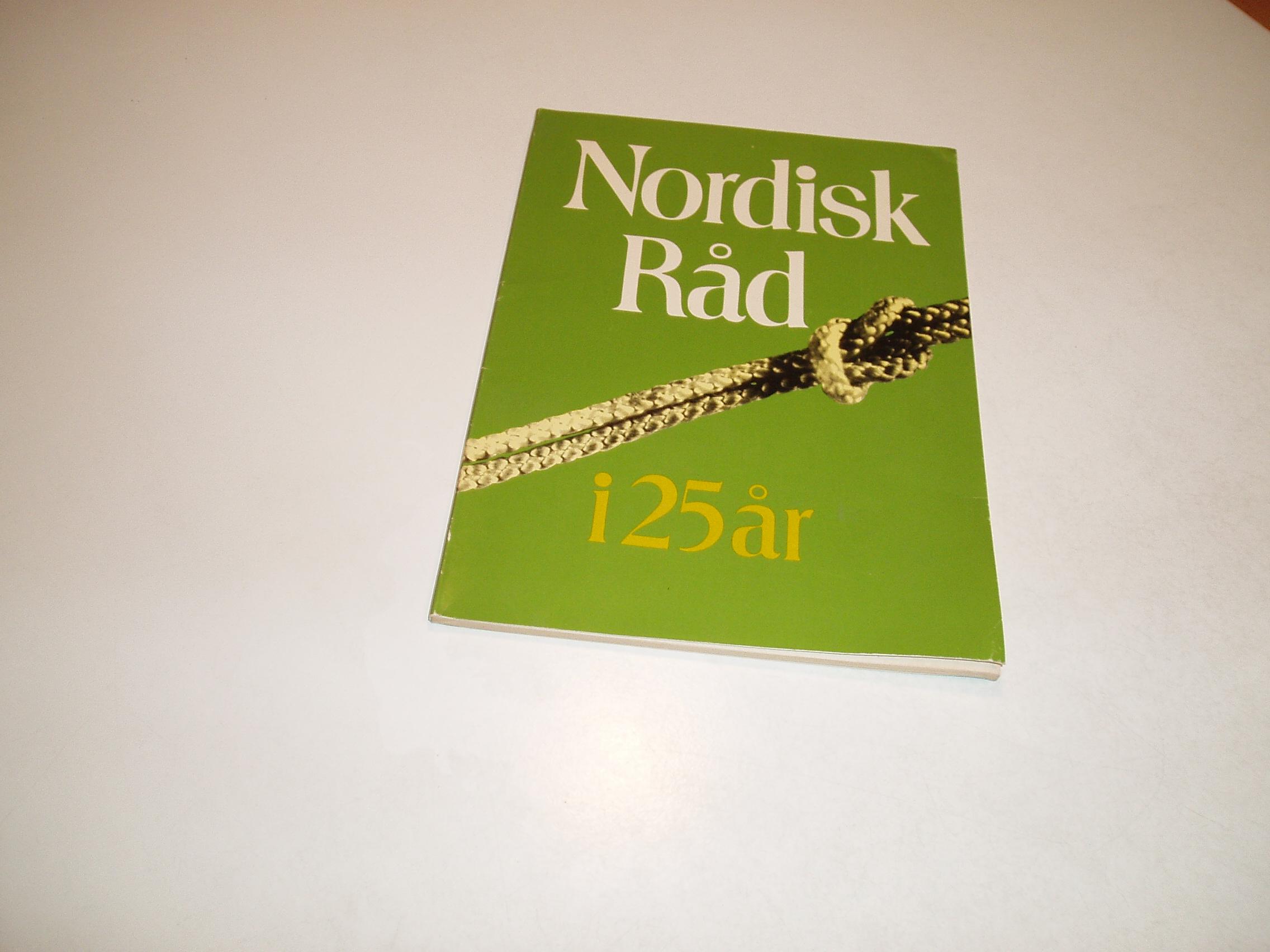 Nordisk Råd i 25 år