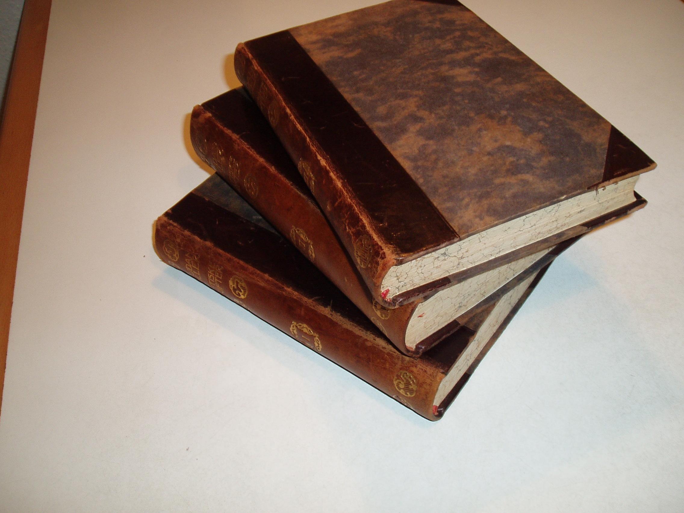 Poetiske skrifter i udvalg. Bind 1-3. Udgivne i anledning af hun