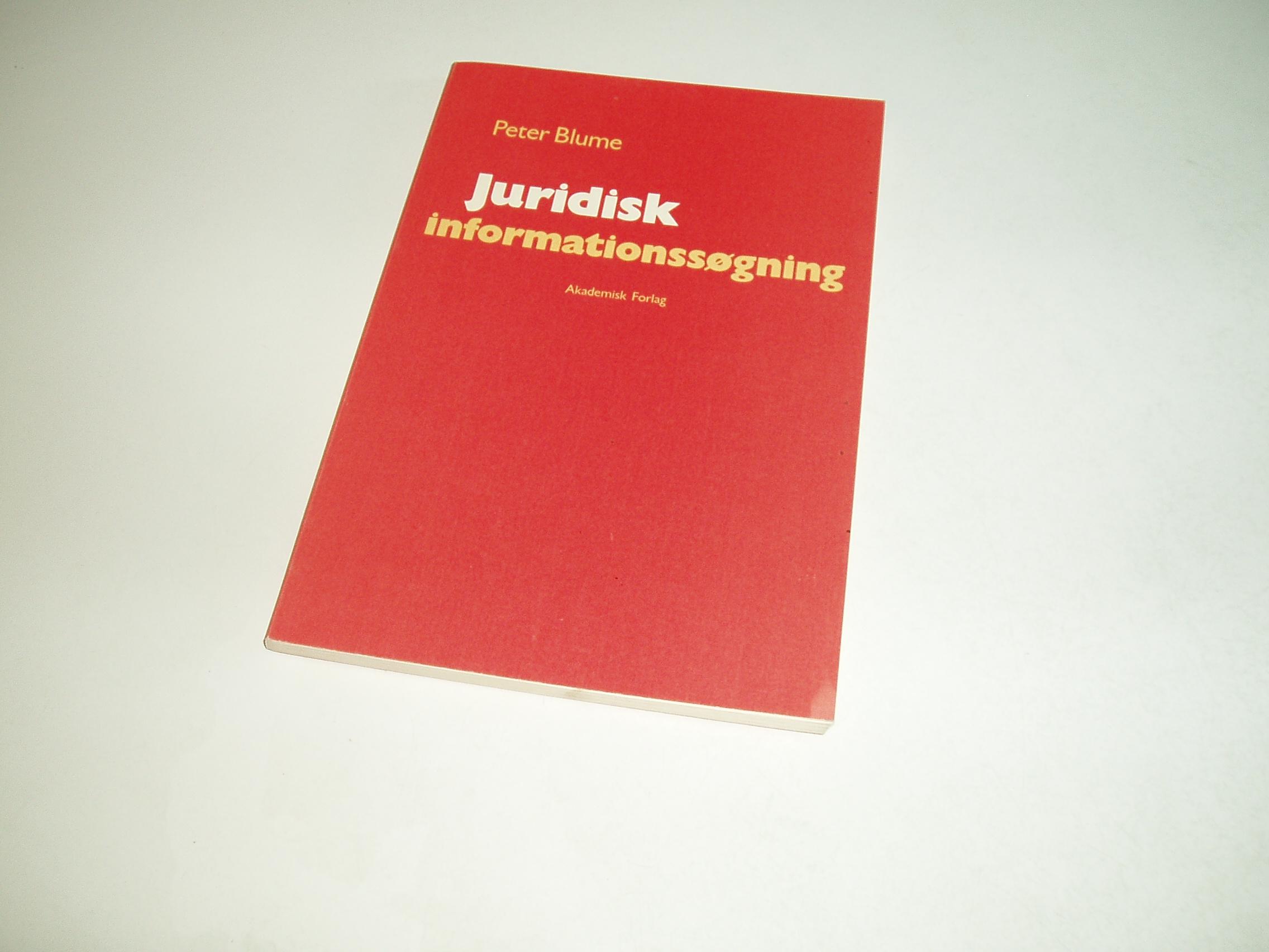Juridisk informationssøgning