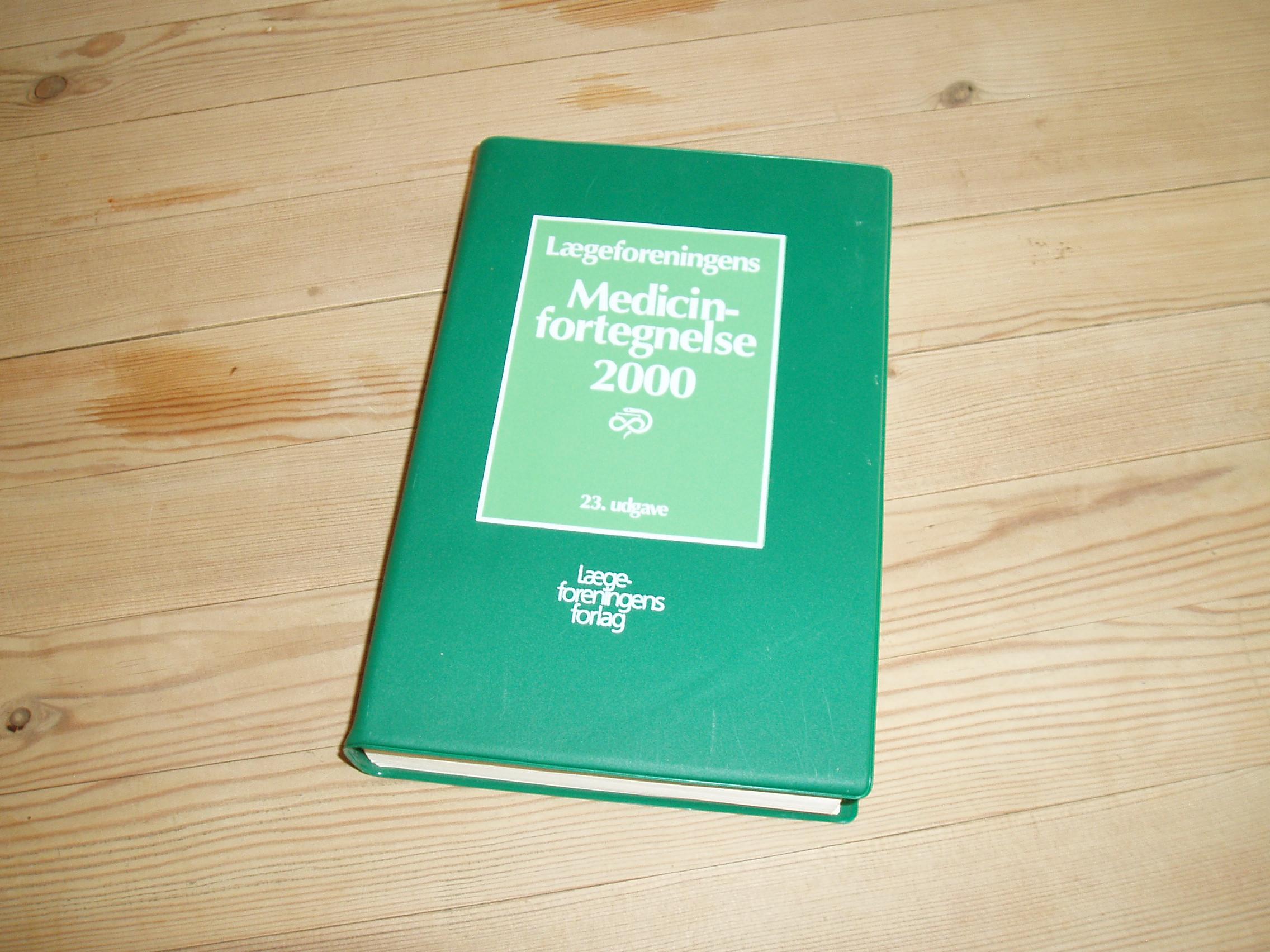 Medicinfortegnelse 2000. 23. udgave