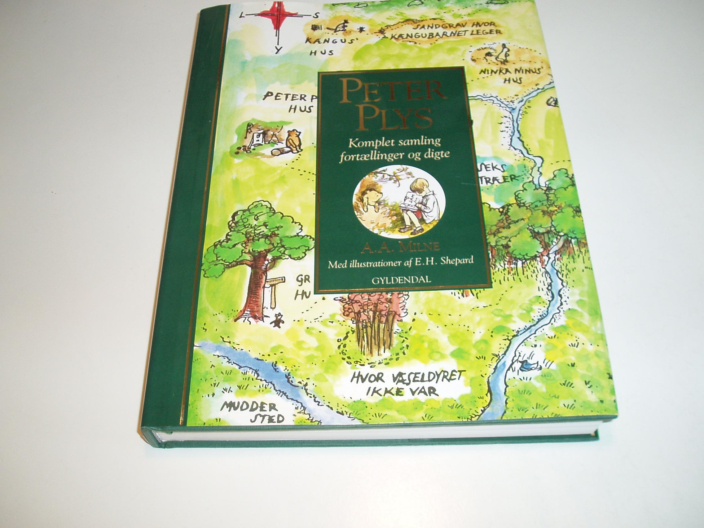Peter Plys. Komplet samling fortællinger og digte. Med ill. af E