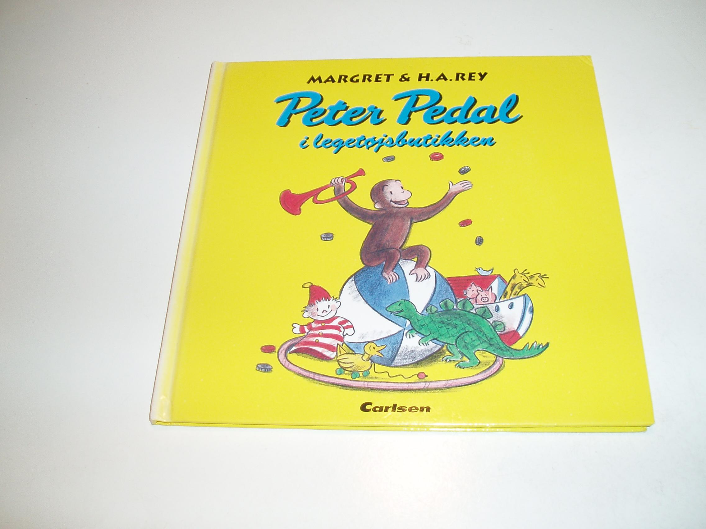 Peter Pedal i legetøjsbutikken