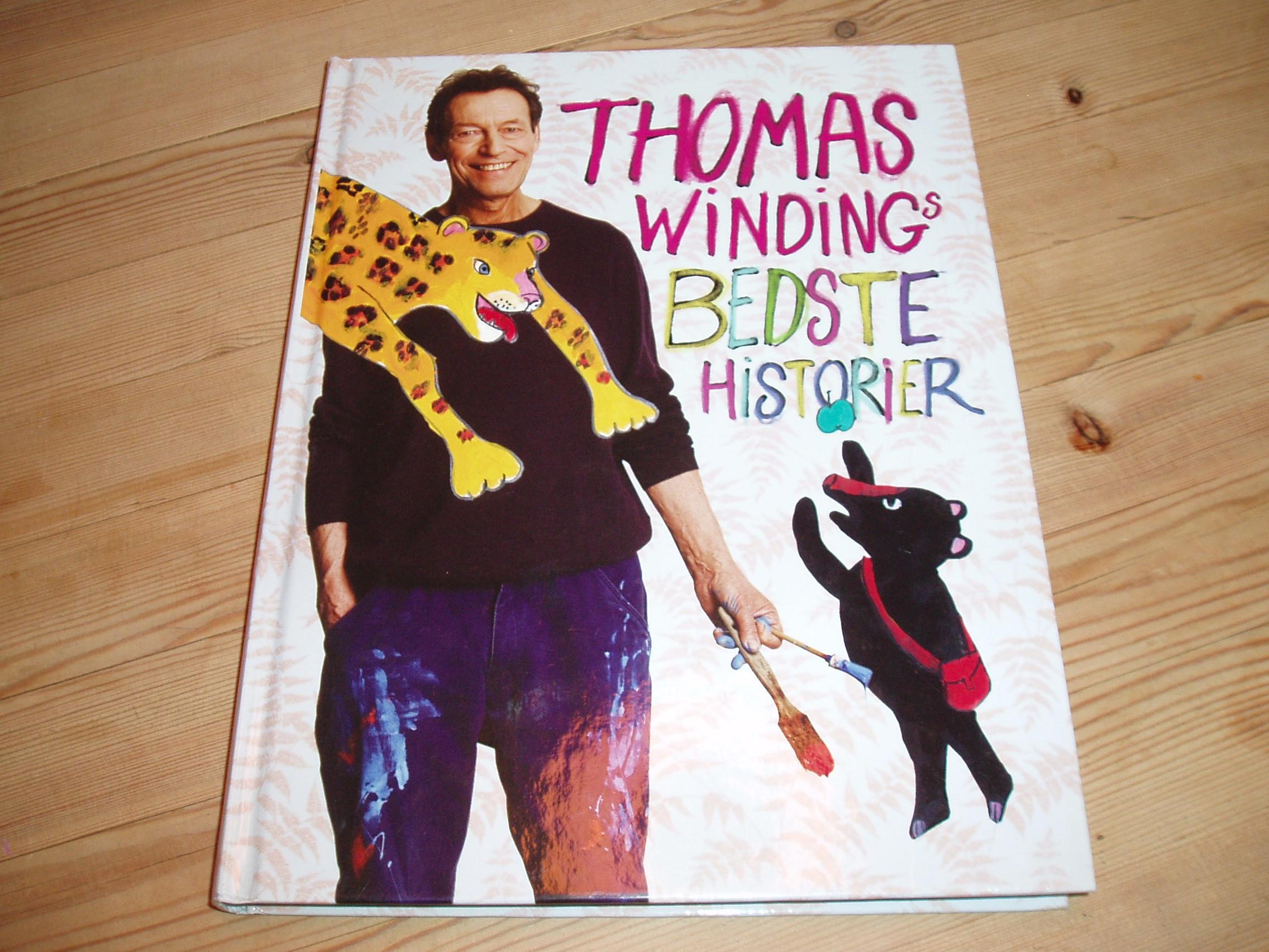 Thomas Windings bedste historier. Med CD. Illustreret