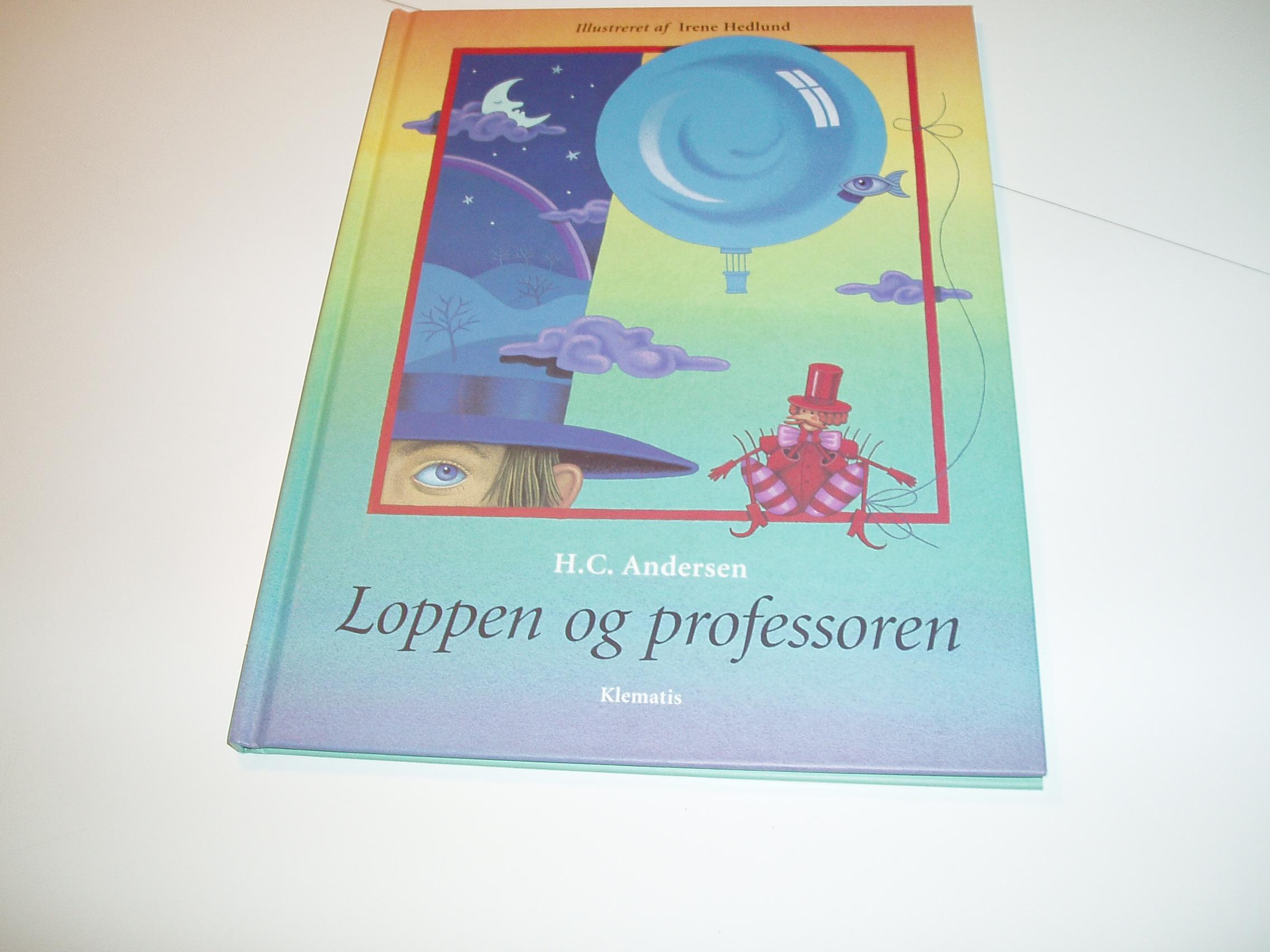 Loppen og professoren. Illustreret af Irene Hedlund