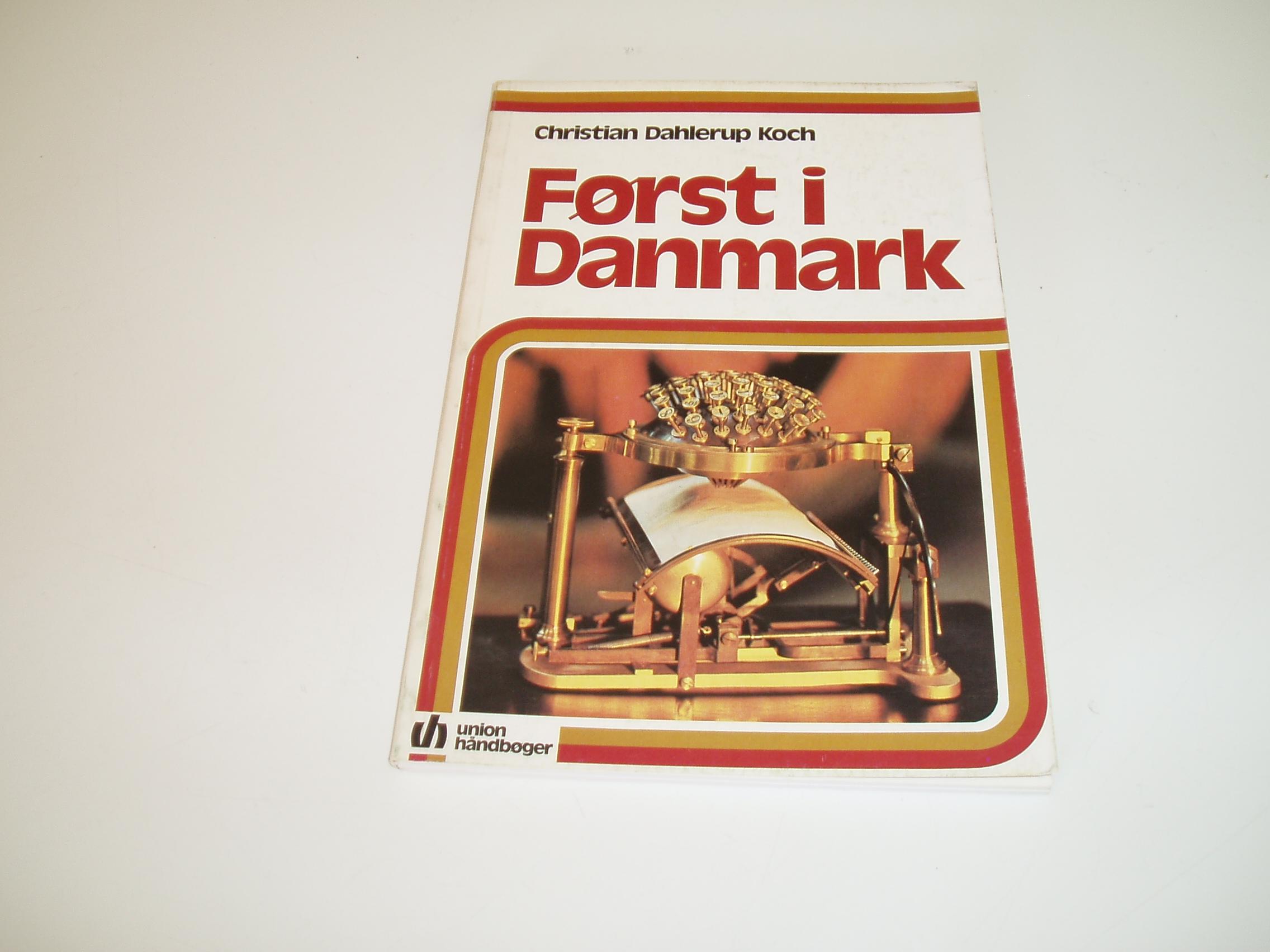 Først i Danmark. Union Håndbøger
