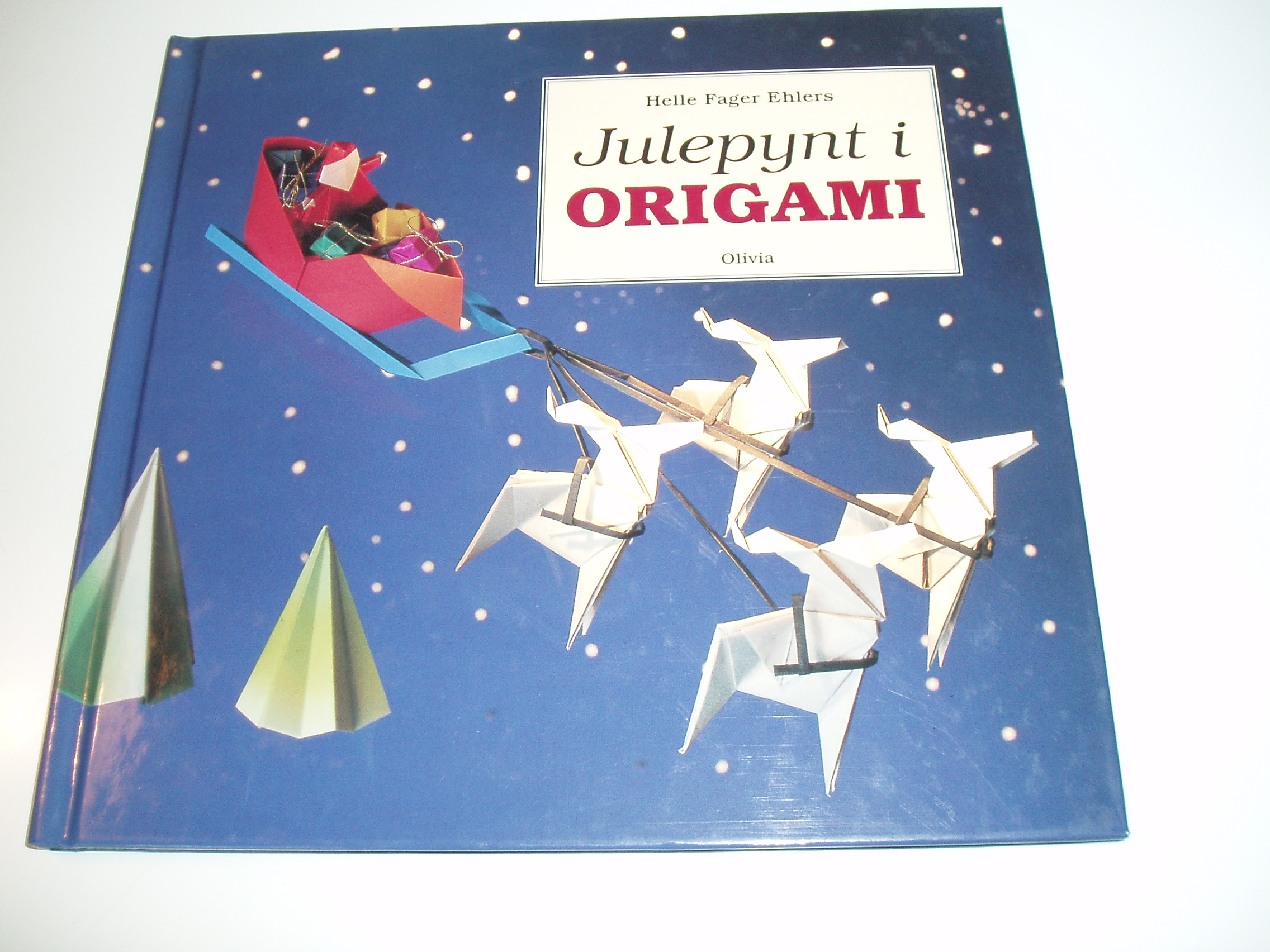 Julepynt i origami