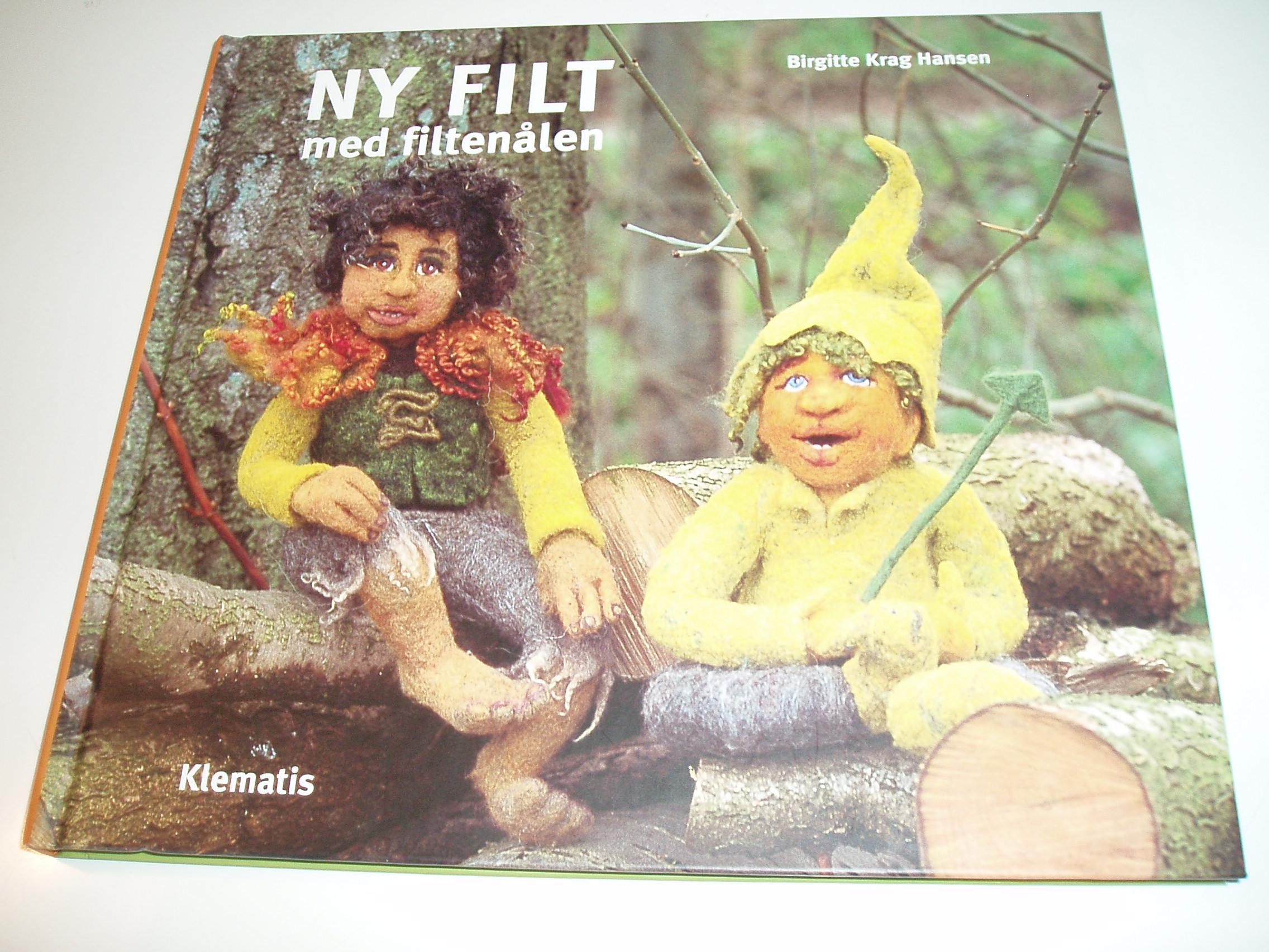 Ny filt med filtenålen
