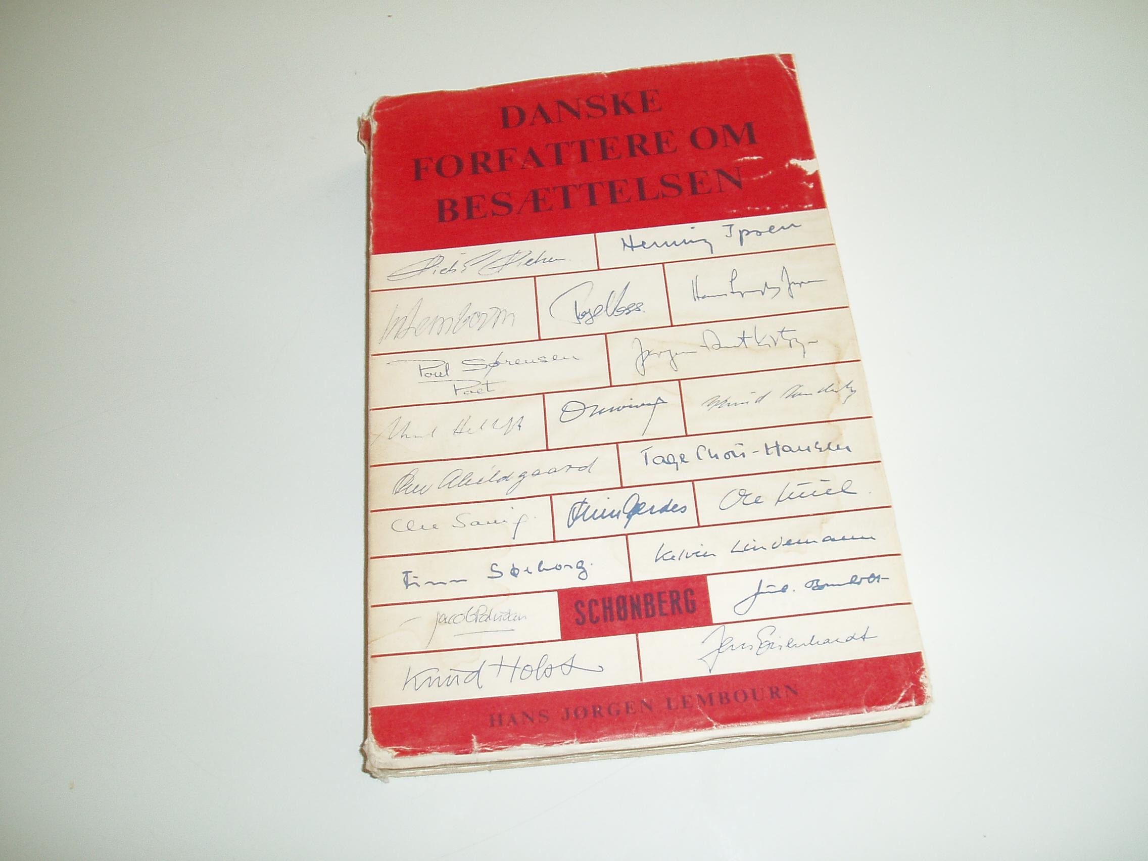 Danske forfattere om besættelsen