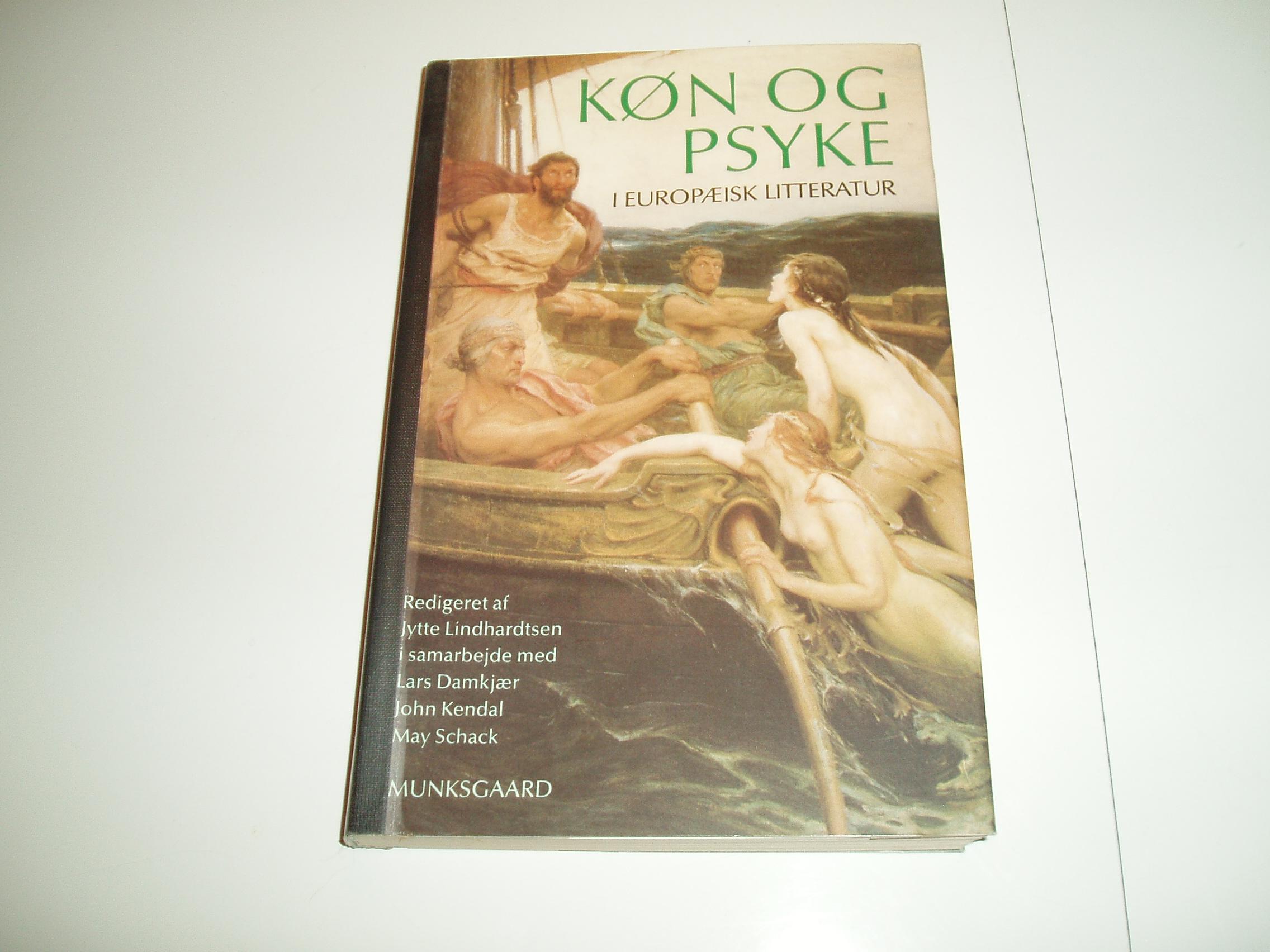 Køn og psyke i europæisk litteratur