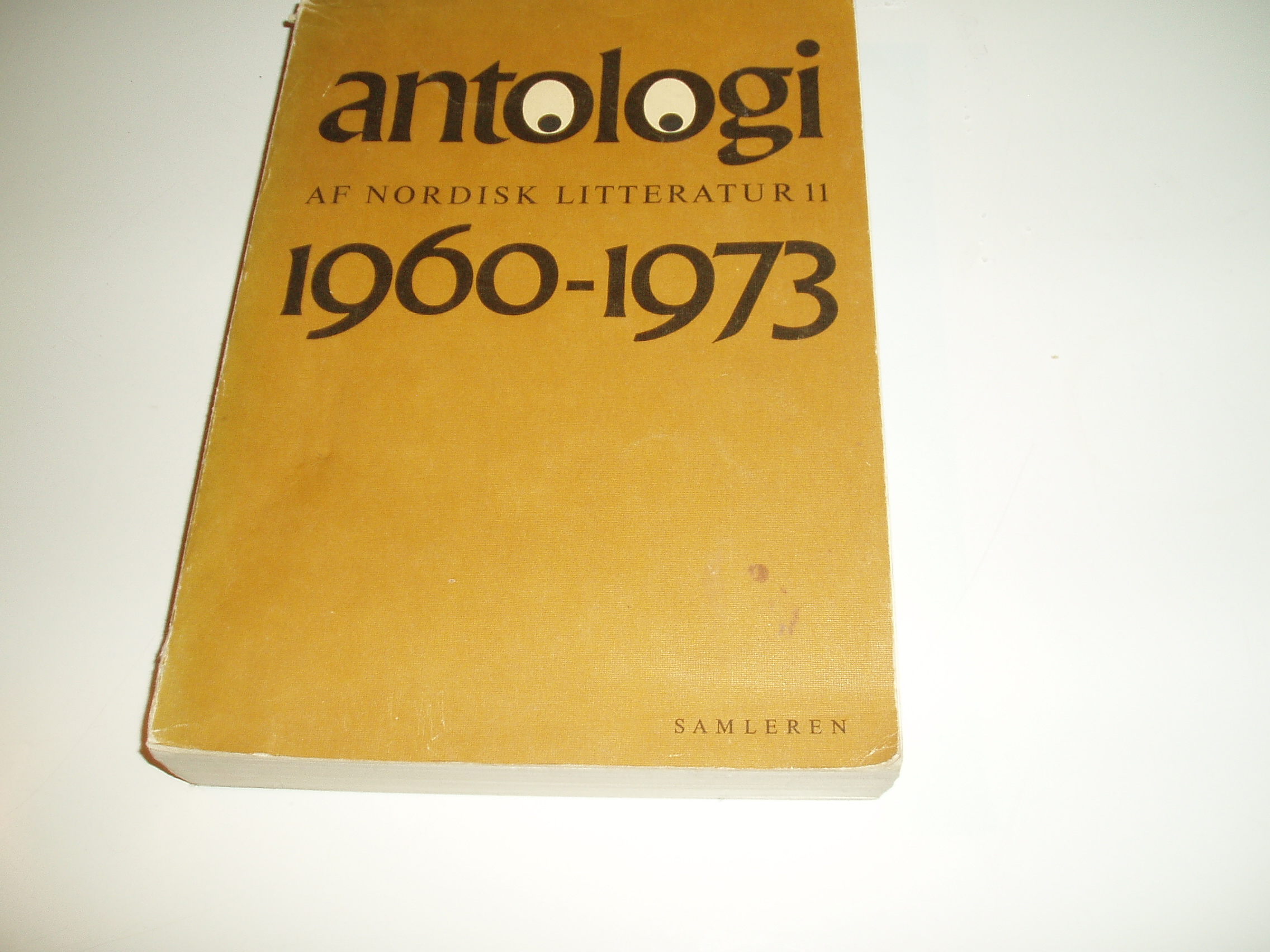 Antologi af nordisk litteratur, bind 11. Perioden 1960-73