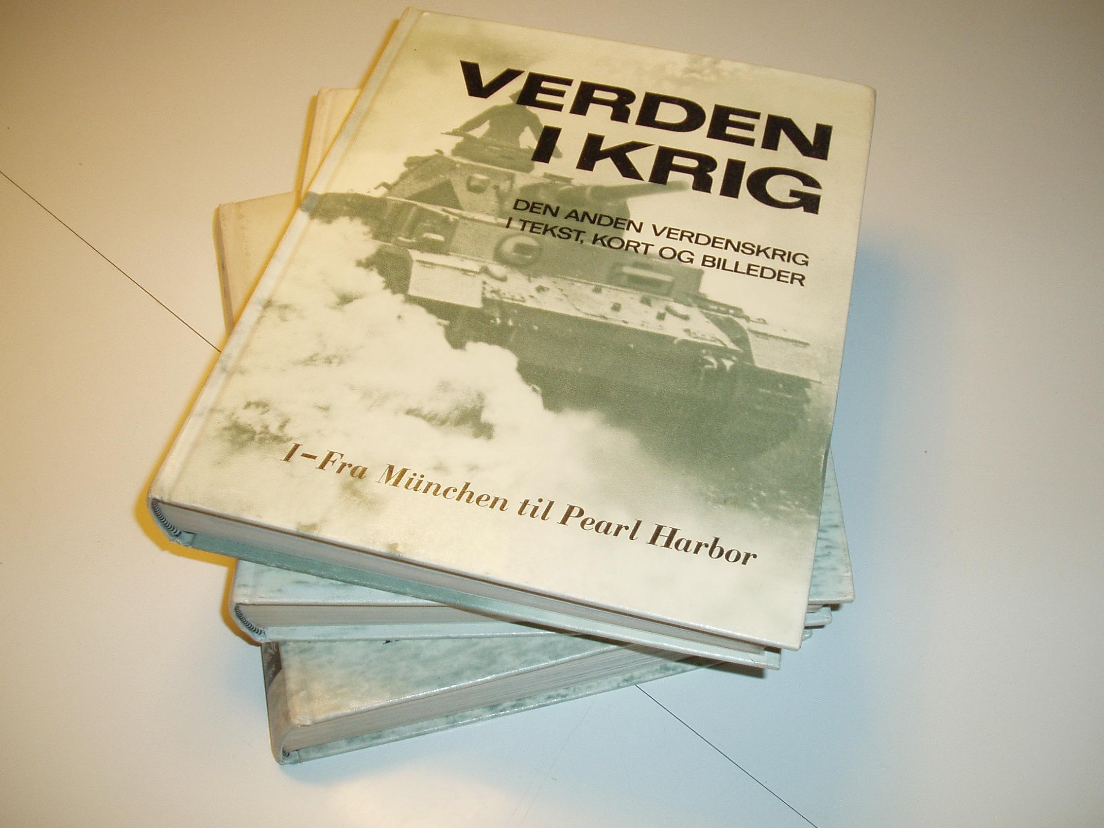 Verden i krig, bind 1-3. Den anden verdenskrig i tekst, kort og