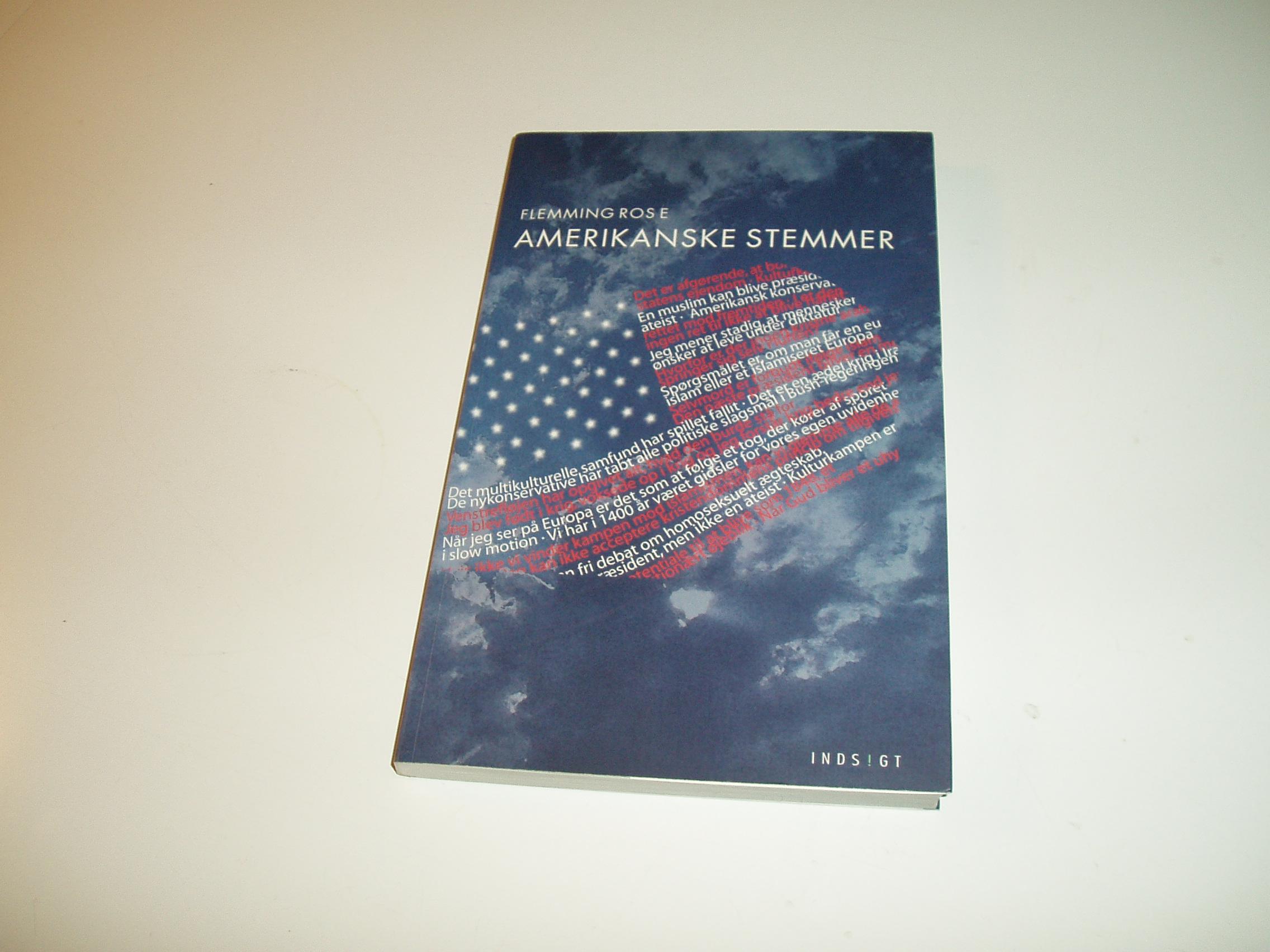 Amerikanske stemmer - en interviewbog