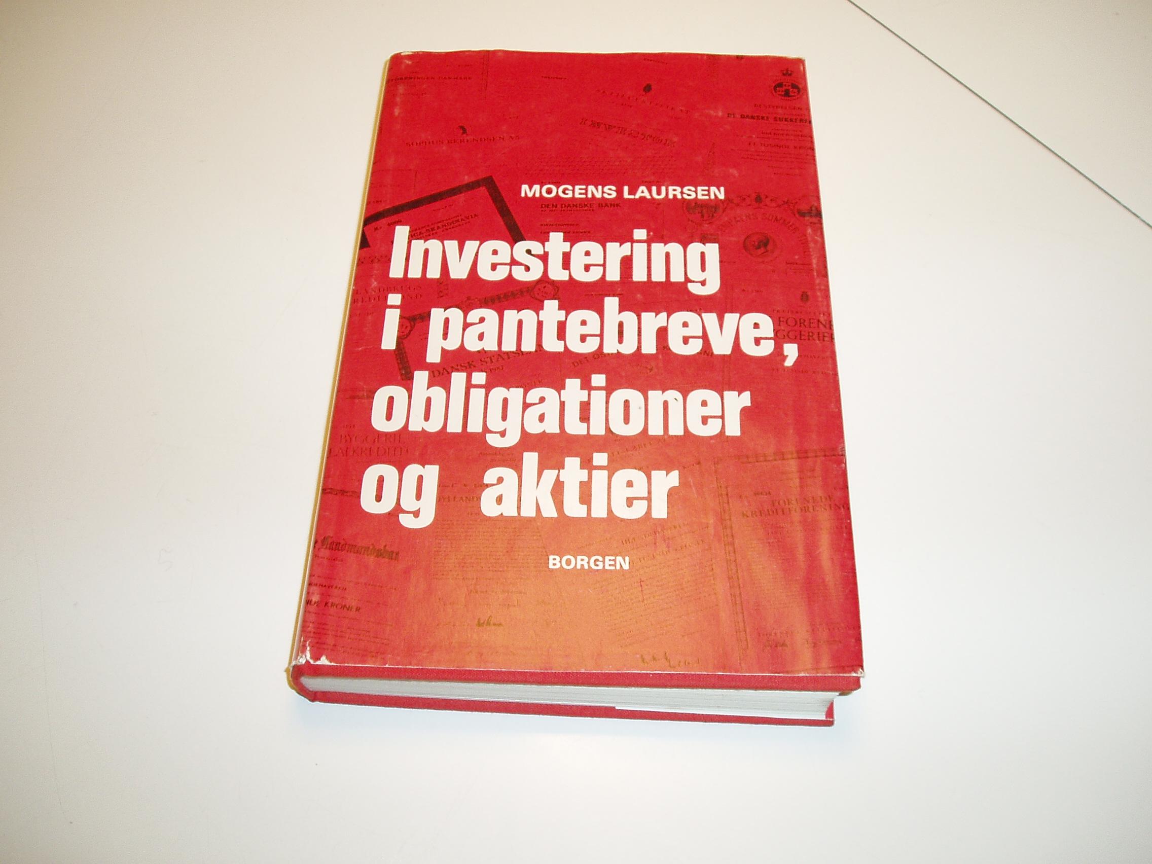 Investering i pantebreve, obligationer og aktier. 2. udgave